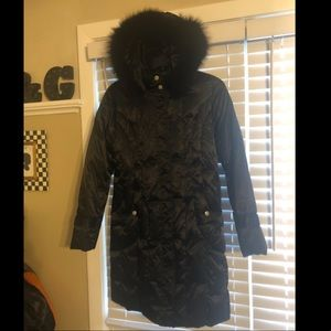 Beautiful Platinum UTEX size Med FOX FUR puffer M